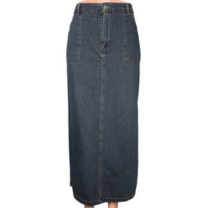 Vintage Levi's Maxi Denim Skirt